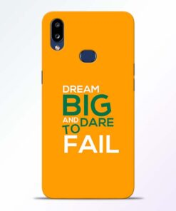 Dare to Fail Samsung Galaxy A10s Mobile Cover