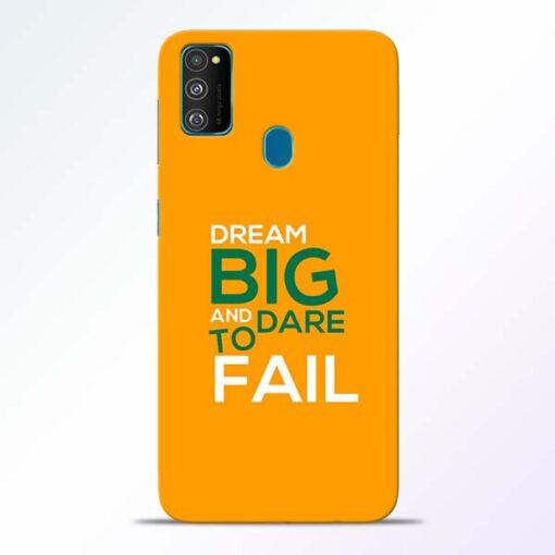 Dare to Fail Samsung Galaxy M30s Mobile Cover
