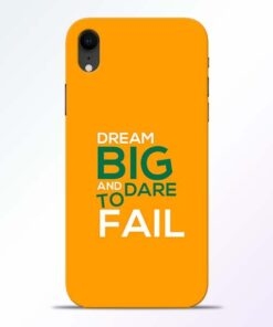 Dare to Fail iPhone XR Mobile Cover