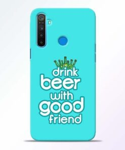 Drink Beer Realme 5 Mobile Cover