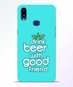 Drink Beer Samsung Galaxy A10s Mobile Cover