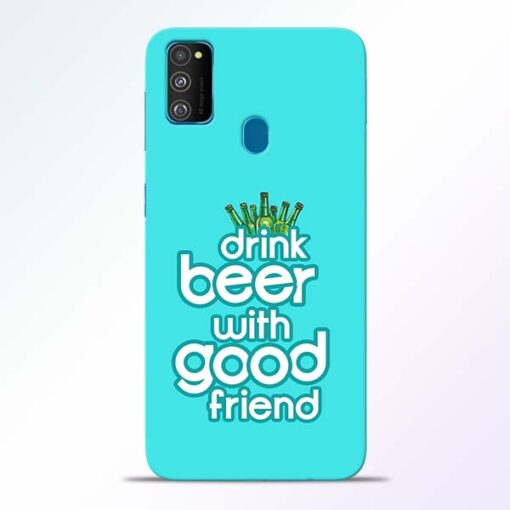 Drink Beer Samsung Galaxy M30s Mobile Cover