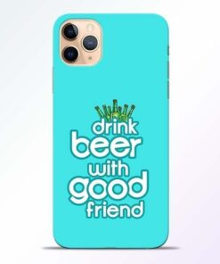 Drink Beer iPhone 11 Pro Mobile Cover