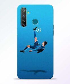 Football Kick RealMe 5 Pro Mobile Cover - CoversGap
