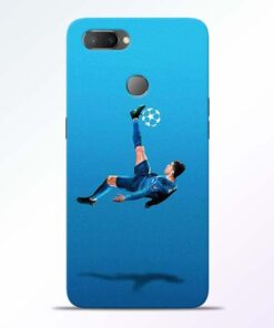Football Kick RealMe U1 Mobile Cover - CoversGap