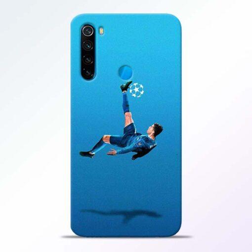 Football Kick Redmi Note 8 Mobile Cover