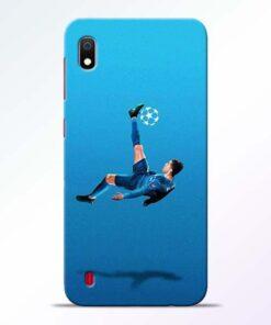Football Kick Samsung A10 Mobile Cover - CoversGap