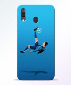 Football Kick Samsung A30 Mobile Cover - CoversGap