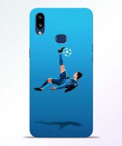 Football Kick Samsung Galaxy A10s Mobile Cover