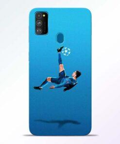 Football Kick Samsung Galaxy M30s Mobile Cover