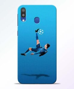 Football Kick Samsung M20 Mobile Cover - CoversGap