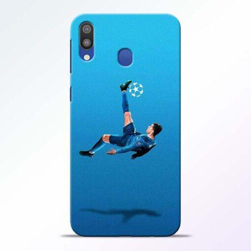 Football Kick Samsung M20 Mobile Cover - CoversGap
