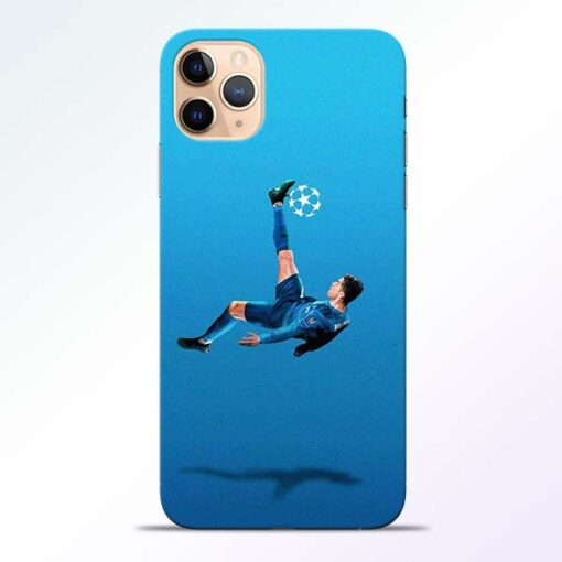 Football Kick iPhone 11 Pro Mobile Cover