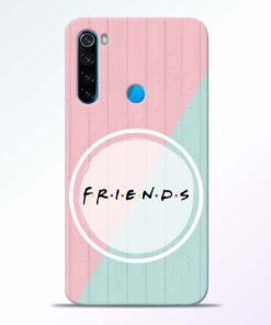 Friends Redmi Note 8 Mobile Cover - CoversGap