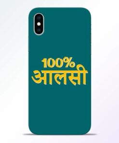 Full Aalsi iPhone XS Mobile Cover