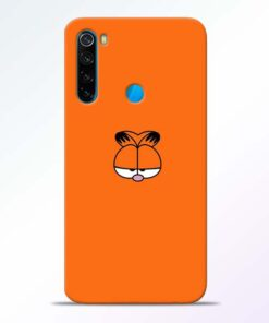 Garfield Cat Redmi Note 8 Mobile Cover - CoversGap