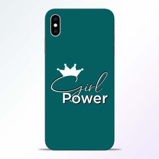 Girl Power iPhone XS Max Mobile Cover