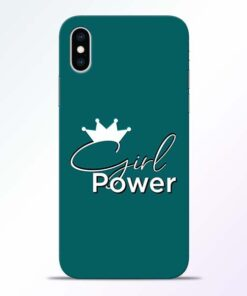 Girl Power iPhone XS Mobile Cover