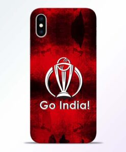Go India iPhone XS Mobile Cover
