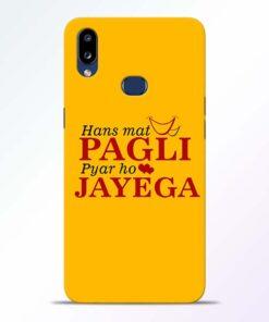 Hans Mat Pagli Samsung Galaxy A10s Mobile Cover