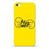 Hug Me Hand iPhone 5s Mobile Cover