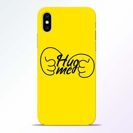 Hug Me Hand iPhone XS Mobile Cover