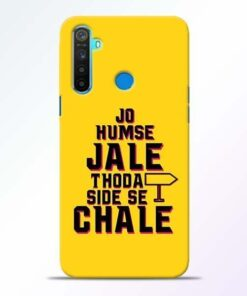 Humse Jale Side Se Realme 5 Mobile Cover