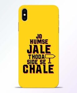 Humse Jale Side Se iPhone XS Max Mobile Cover