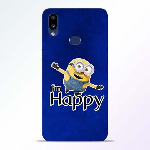 I am Happy Minion Samsung Galaxy A10s Mobile Cover