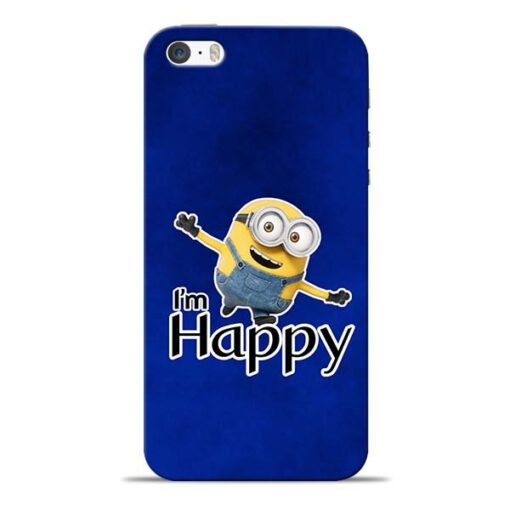 I am Happy Minion iPhone 5s Mobile Cover