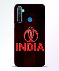 India Worldcup Realme 5 Mobile Cover