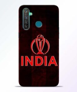 India Worldcup Realme 5 Pro Mobile Cover