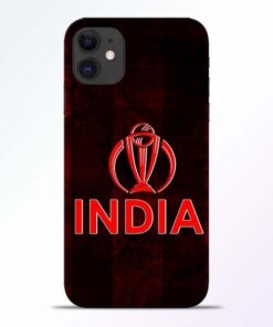 India Worldcup iPhone 11 Mobile Cover