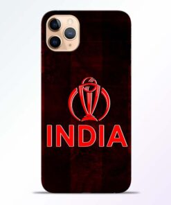 India Worldcup iPhone 11 Pro Mobile Cover