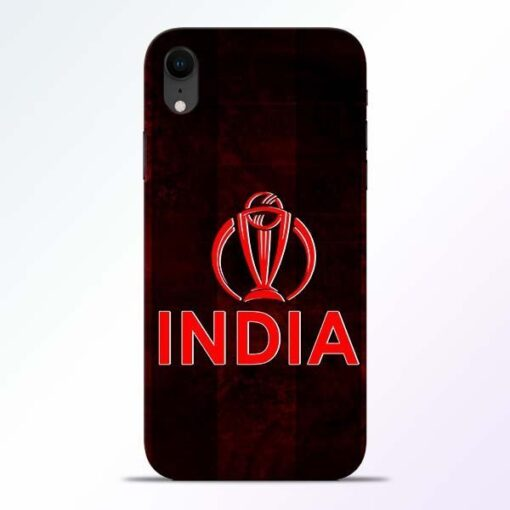 India Worldcup iPhone XR Mobile Cover