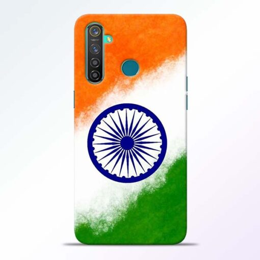 Indian Flag RealMe 5 Pro Mobile Cover - CoversGap