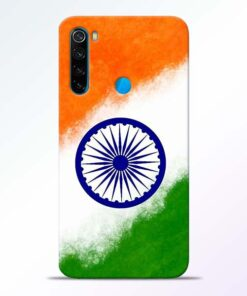 Indian Flag Redmi Note 8 Mobile Cover