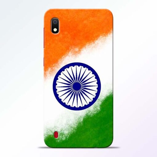 Indian Flag Samsung A10 Mobile Cover - CoversGap