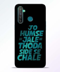Jo Humse Jale RealMe 5 Pro Mobile Cover - CoversGap