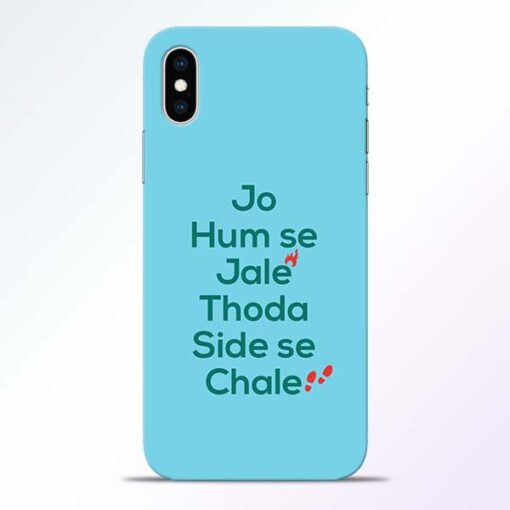 Jo Humse Jale iPhone XS Mobile Cover