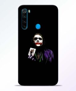 Joker Card Redmi Note 8 Mobile Cover