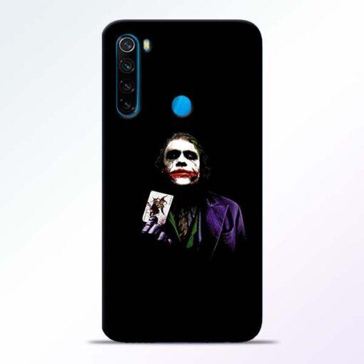 Joker Card Redmi Note 8 Mobile Cover