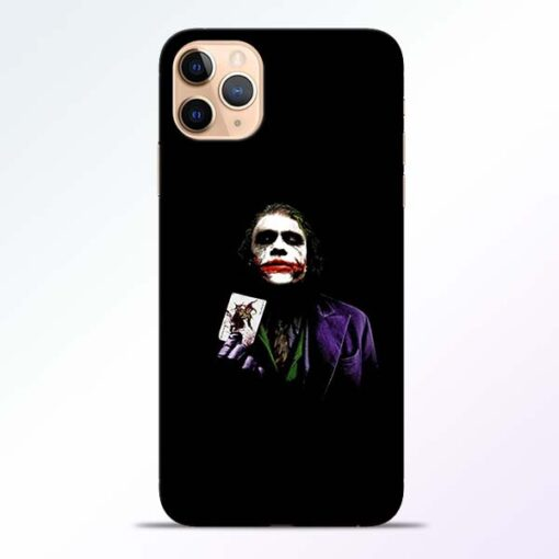 Joker Card iPhone 11 Pro Mobile Cover