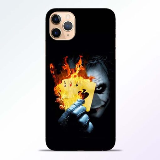 Joker Shows iPhone 11 Pro Mobile Cover
