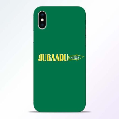 Jugadu Launda iPhone XS Mobile Cover