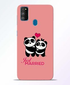 Just Married Samsung Galaxy M30s Mobile Cover