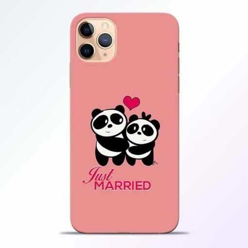 Just Married iPhone 11 Pro Mobile Cover