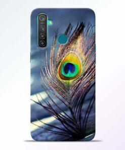 Krishna More Pankh RealMe 5 Pro Mobile Cover - CoversGap