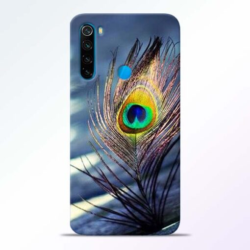Krishna More Pankh Redmi Note 8 Mobile Cover