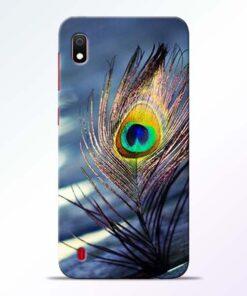 Krishna More Pankh Samsung A10 Mobile Cover - CoversGap